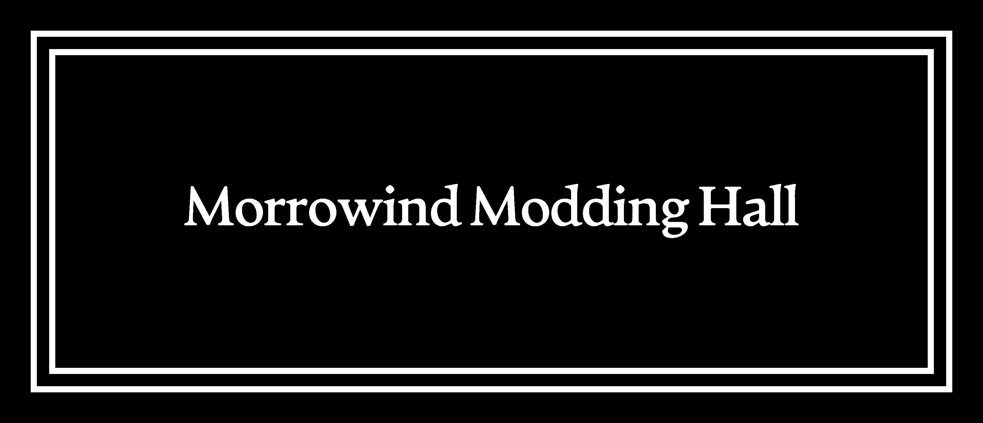 Morrowind Modding Hall